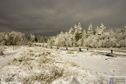 Mount Sherman first snowfall #4 (large view)