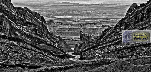 Road to Nowhere #3 B&W version (large view)