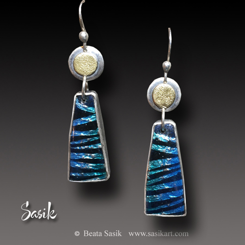 MIDNIGHT SUN EARRINGS