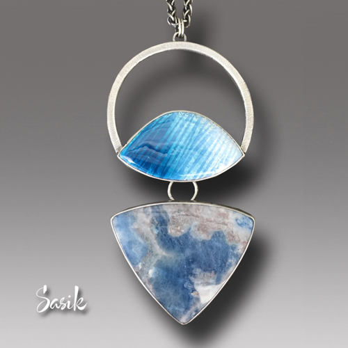 WATER AND ICE PENDANT