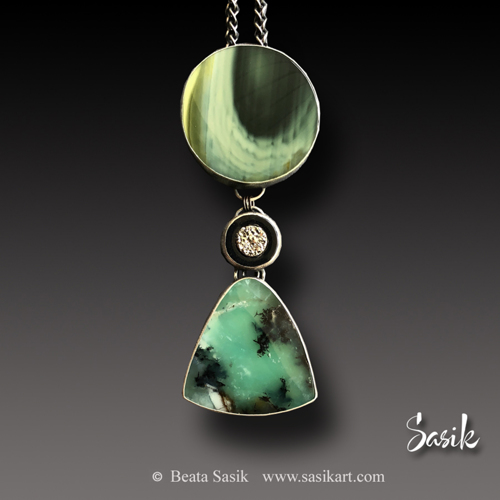 GREEN ABYSS PENDANT