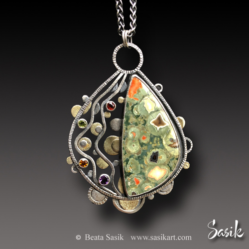 BEJEWELED RAINFOREST PENDANT
