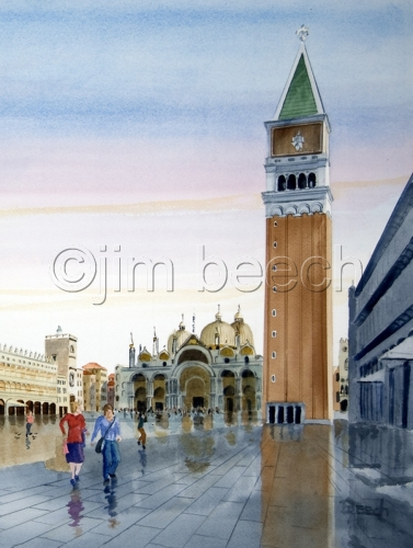 Morning in the Piazza San Marco