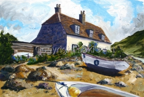 English Seaside Cottage