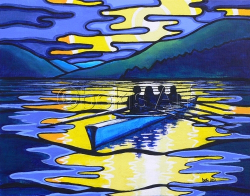 Rowing on the Shuswap