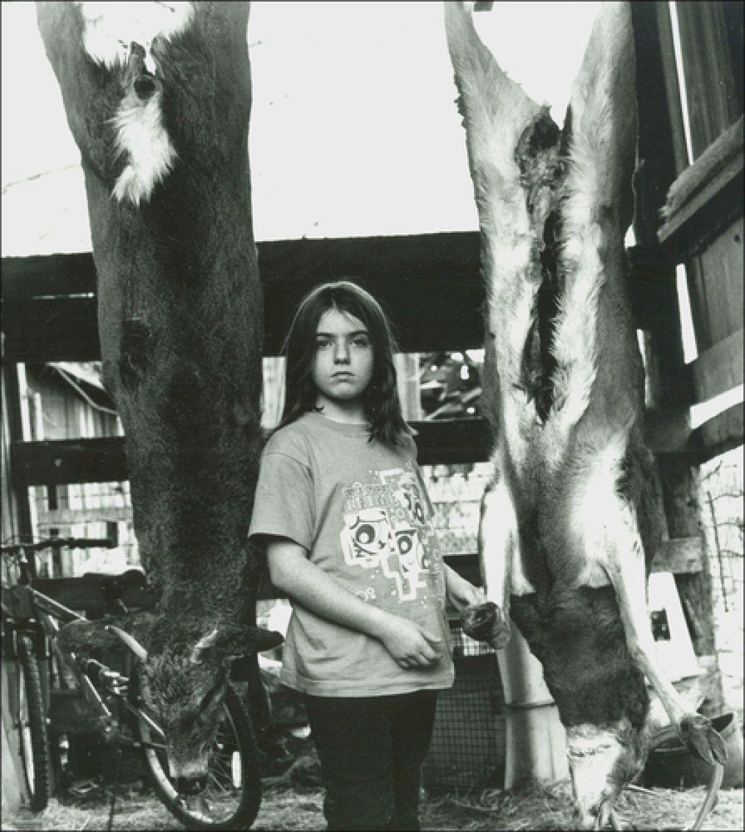 Emily and The Deer, Kearneysville, WV (large view)