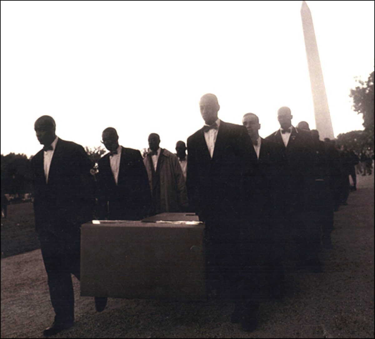 Boxes of Money, Million Man March, Washington, DC, 1994 (large view)