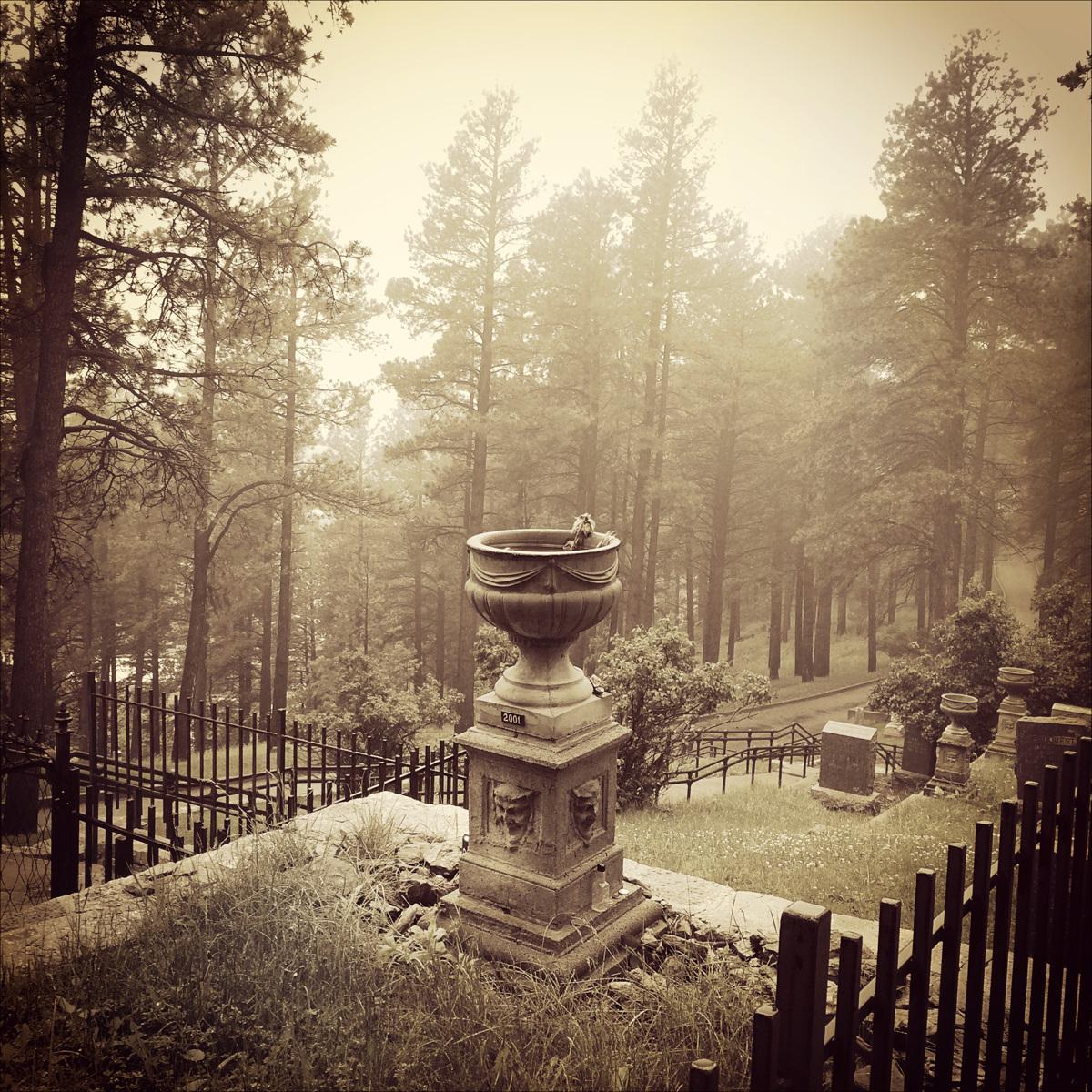 Calamity Jane's Gravesite, Deadwood, SD, 2015 (large view)