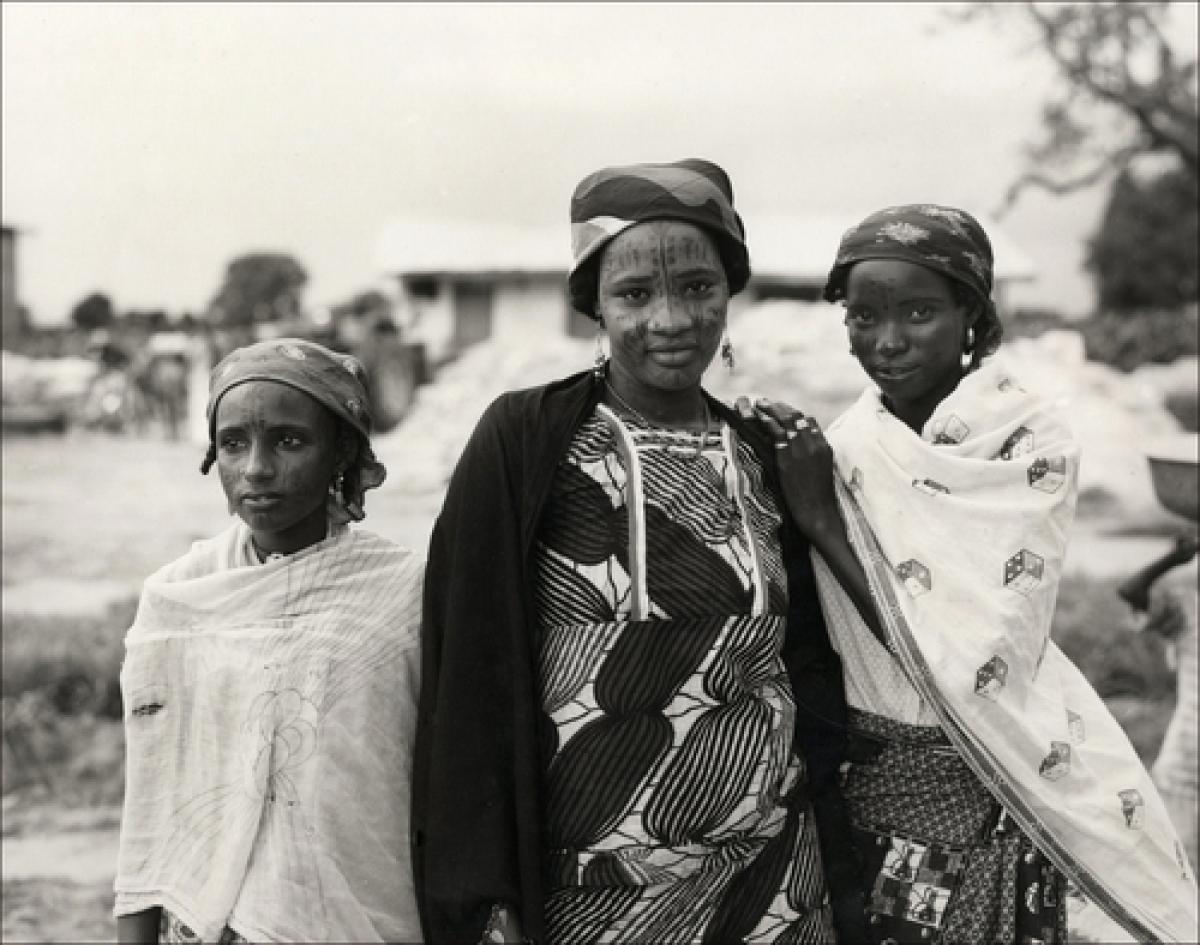 Fulani Women, Nigeria, Africa. (large view)