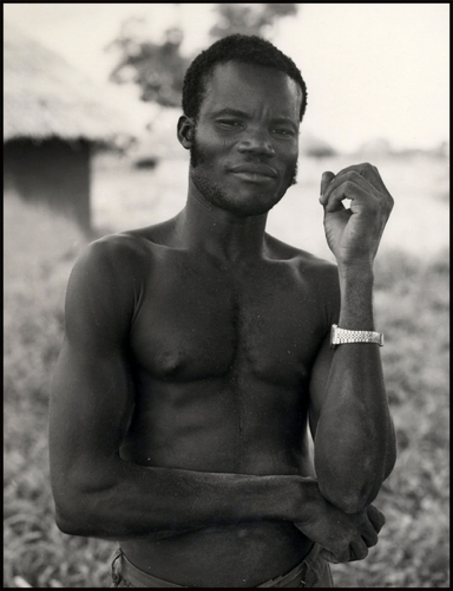 Man With Watch, Nigeria, Africa, 1989. (large view)