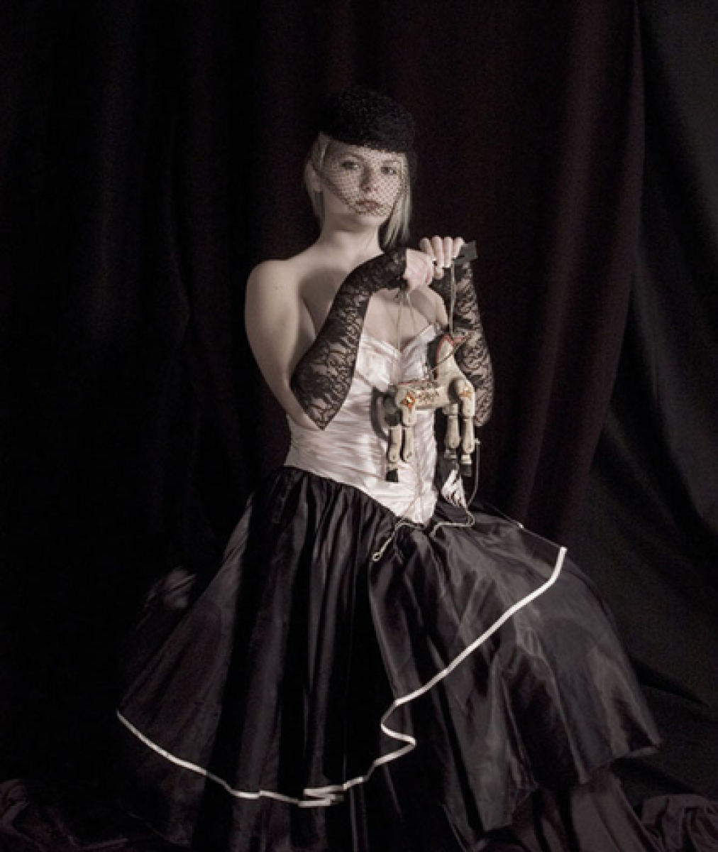 Ally With Vietnamese Horse Puppet, 2009 (large view)