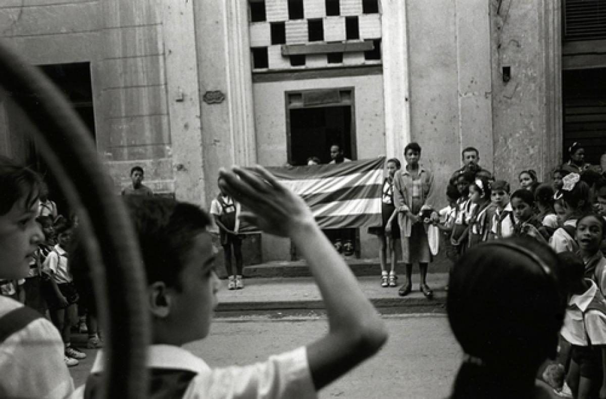 School Pledge To Allegiance, Havana, Cuba (large view)