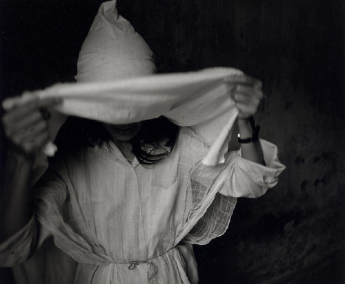 Funeral Mouner, Vietnam, 1989 (large view)