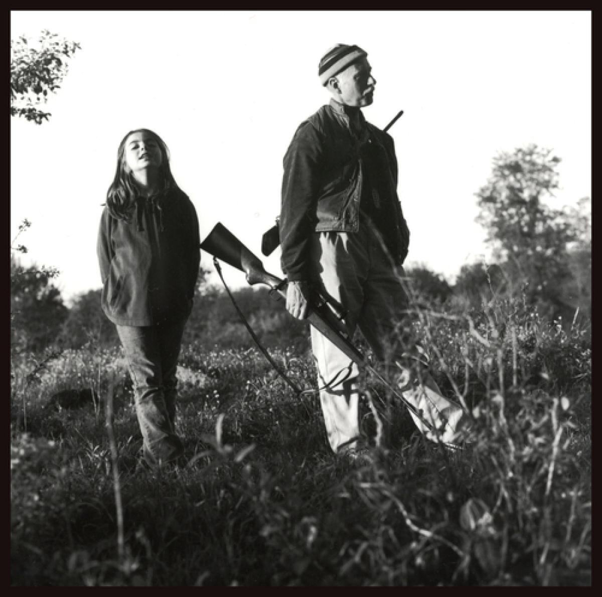 Emily, Monte With Gun, Kearneysville, WV, 2009 (large view)