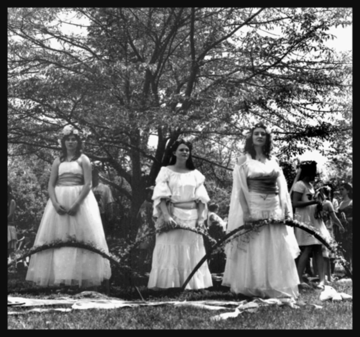 May Day Princesses, Shepherdstown, WV, 2010 (large view)