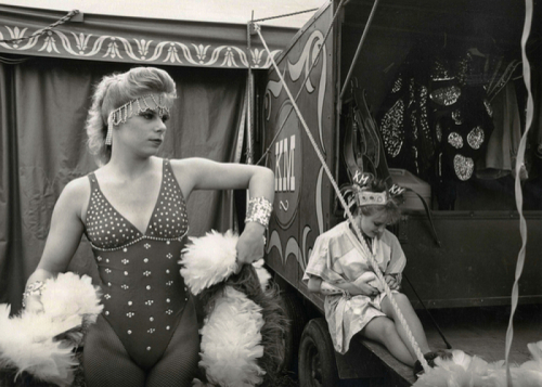 Angela, Kelly Miller Circus, Hagerstown, MD, 1997