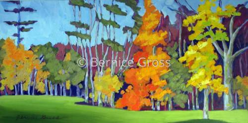 October Flame by Bernice Gross