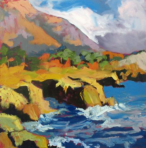 Monterey Coast by Bernice Gross