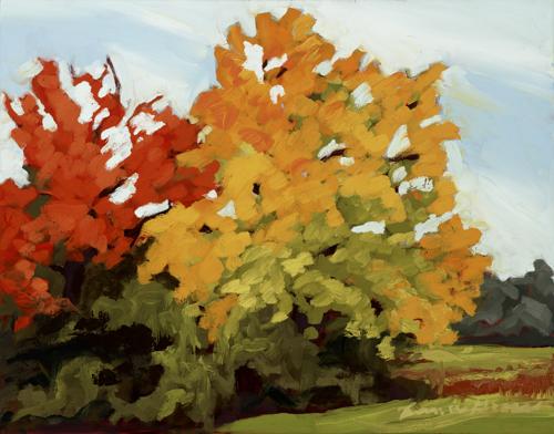 Fall Bouquet by Bernice Gross