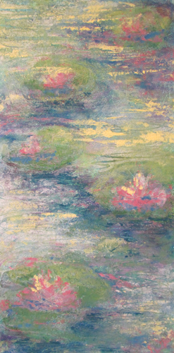 My Monet Moment: Lily Pads I
