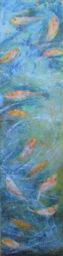 My Monet Moment: Fish in the Pond I