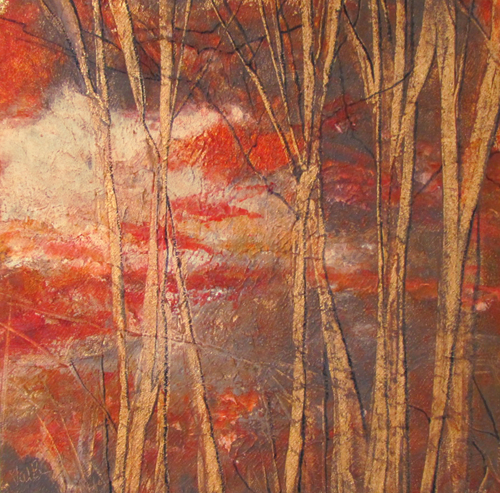 Bare Trees 6 by Valerie Berkely