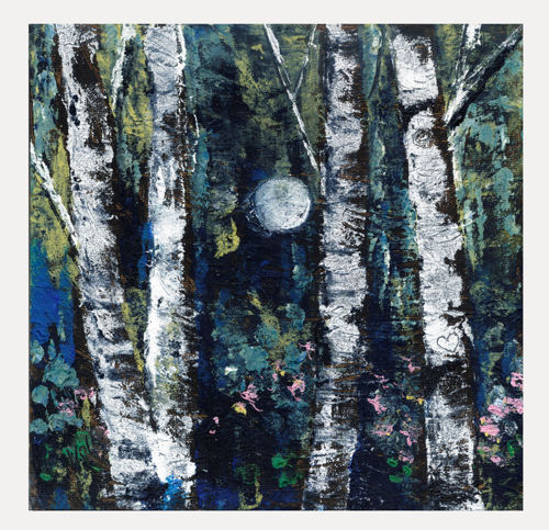 Birch and Moon