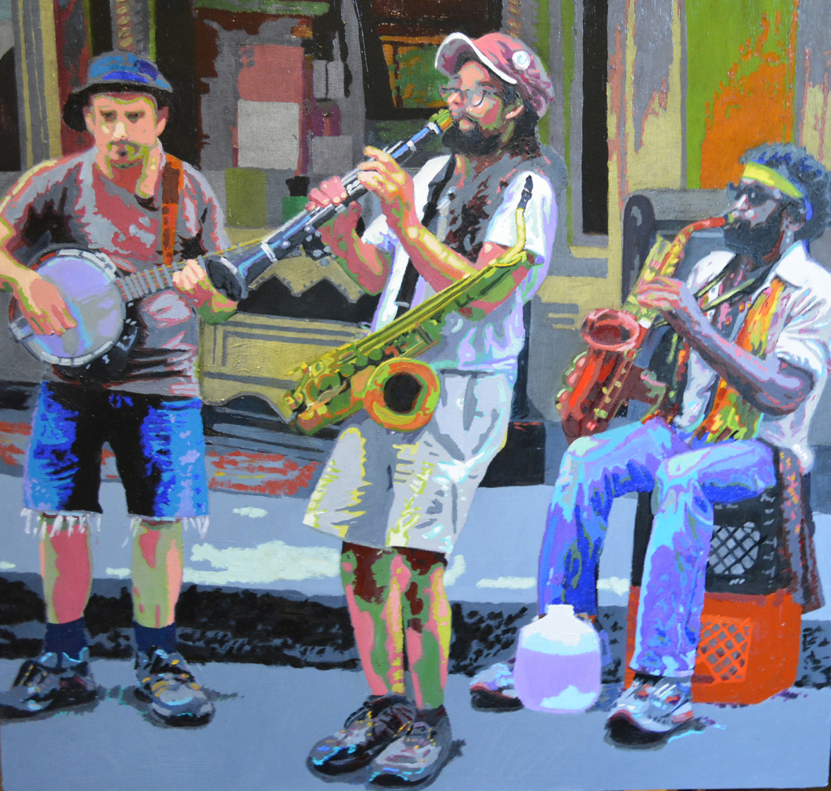 Street Performers II, NOLA (large view)