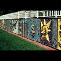 Multicultural Garden Wall Mural (thumbnail)