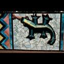 Multicultural  Garden Wall Mural lizard (thumbnail)