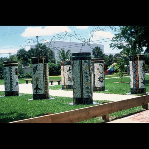 Mulitcultural Garden Entranceway