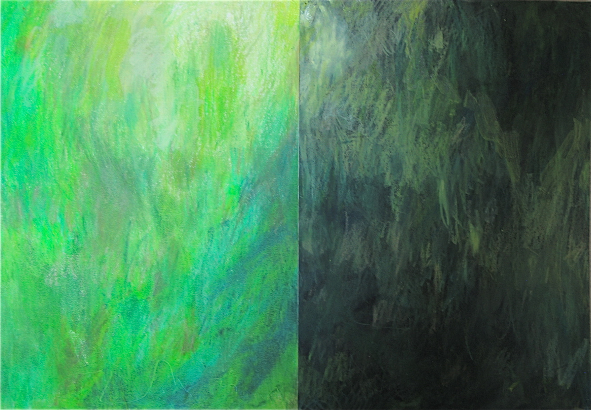 Green Diptych (large view)
