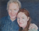 Betzi, Stein, Betzi Stein, Los Angeles, California, USA, portrait, colored pencil portrait, Annette O'Toole, Michael McKean, colored pencil - Portrait Drawing