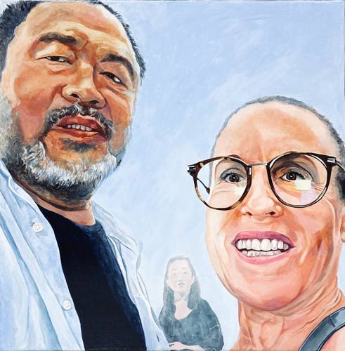 Assembly Line Selfie: Photo Credit Ai Weiwei
