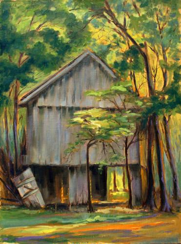 Old Tabacco Barn near Pembroke, Kentucky