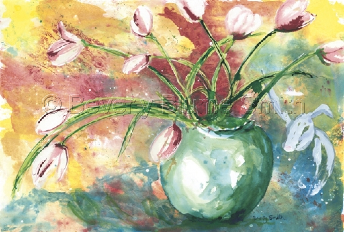 Tulips by Beverly Smith (large view)