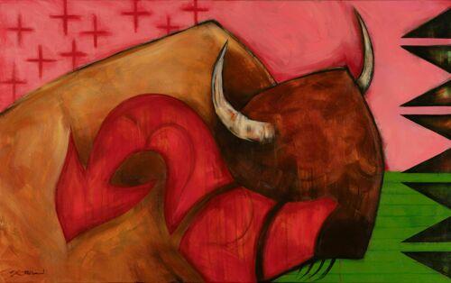 Buffalo Horn Medicine by Brent Greenwood