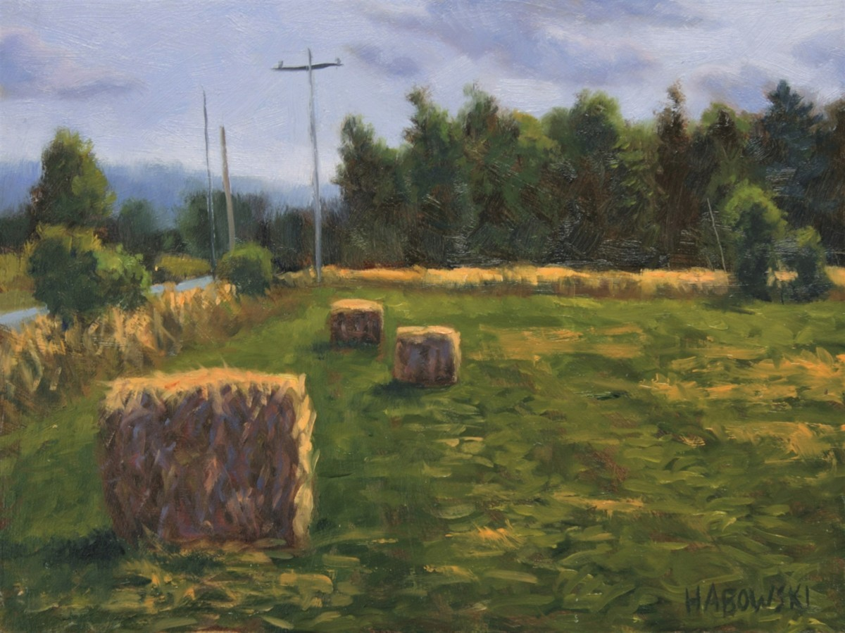 Trafton Road Bales (large view)