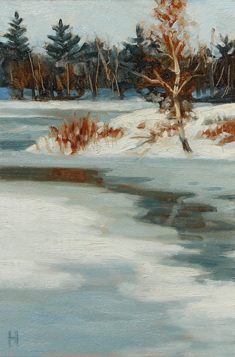 Pond Ice (large view)
