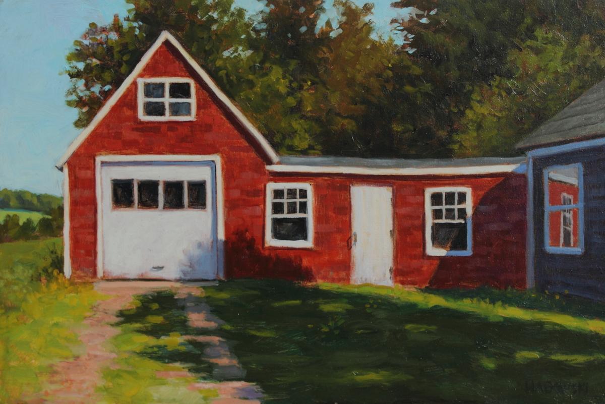 Red Garage (large view)