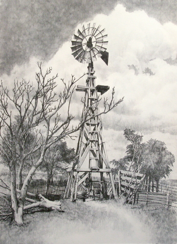 """The Windmill - The Symbol of the Plains"""