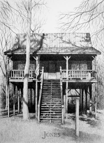 """""""R. J.'s Hunting Cabin"""""""