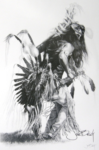 Bullet, A Traditional Dancer