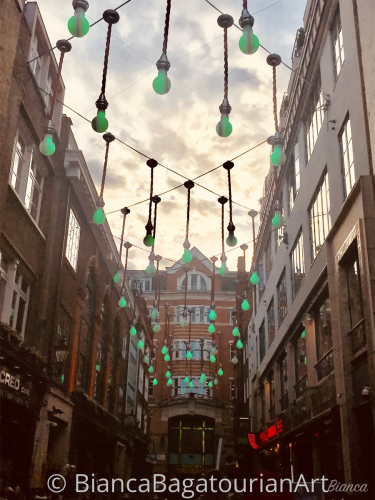 Green Lights on Ganton Street