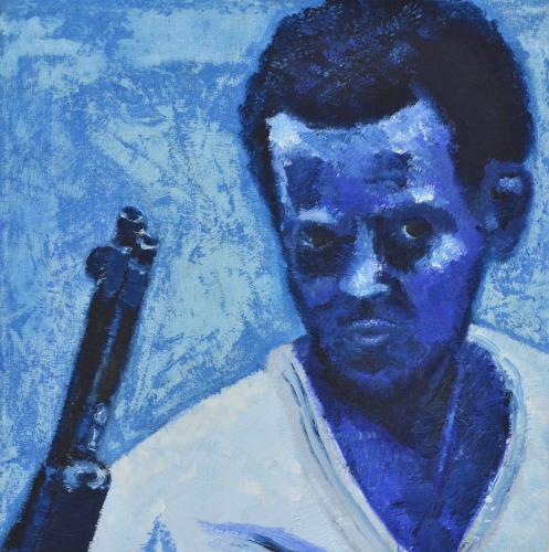 Blue Child Soldier