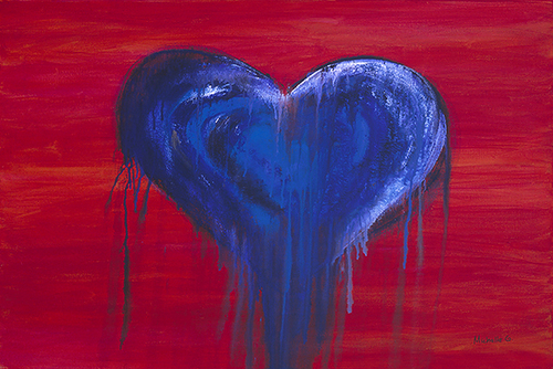 Blue Heart - My Heart Bleeds For You Too