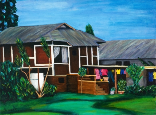 Original Hawaiian Home Painting - Beauty In The Every Day