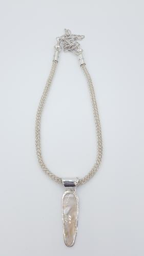 Handwoven Necklace by Betty J. Padilla