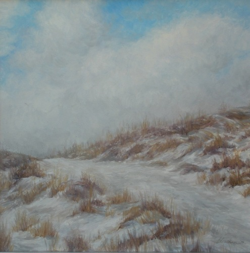 Winter Path, study