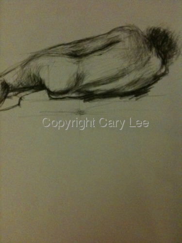 Nude by Cary Lee